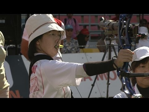 Compound Women Open Team Bronze – WA Para Championships 2013 – Bangkok (THA)