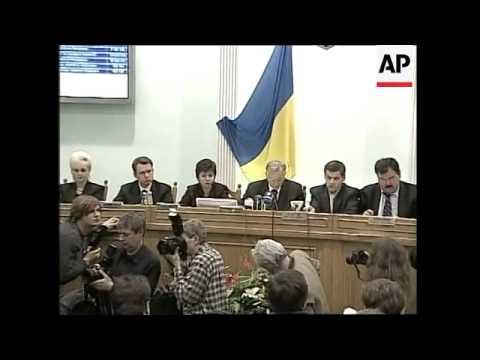 Elex Commission declares Yushchenko official winner