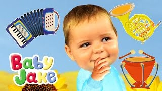 Baby Jake & Musical Instruments for Kids - Yacki Yacki Yoggi Songs  Compilation