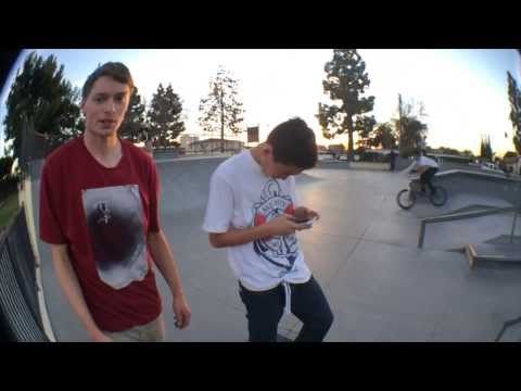Few tricks at Westminster park with Daniel Yeager - Roll Dawgs Zine