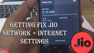 HOW TO FIX JIO NETWORK + INTERNET SETTINGS  ✔