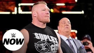 Brock Lesnar has Kofi Kingston's WWE Title in his sights: WWE Now