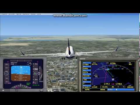 microsft flight similaor x  kalkış ve iniş