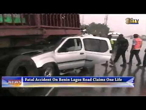 Fatal Accident On Benin Lagos Road Claims One Life
