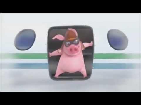 Прикол 2013 Очень смешной мульт про свинюшку и печеньку. Посмотри