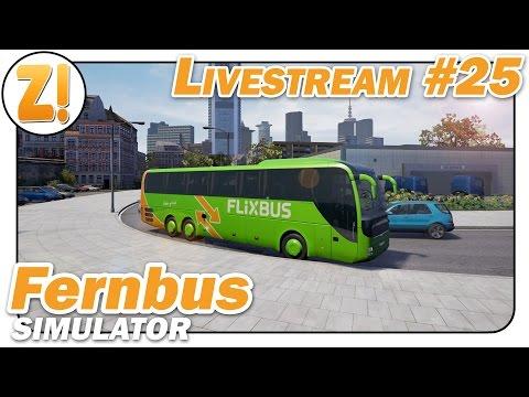 Fernbus Simulator: Mieses Wetter, aber der Bus ist wasserfest! #25   Let's Play [DEUTSCH]