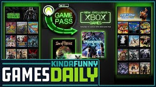 Xbox Game Pass To Include All New First Party Games Day 1 - Kinda Funny Games Daily 01.23.18