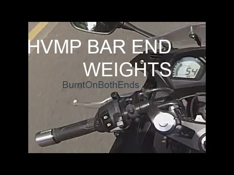 HVMP Bar End Weights