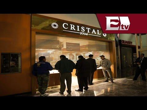 VIDEO: Asalto a joyería en Plaza Tepeyac con lujo de violencia / Titulares con Vianey Esquinca