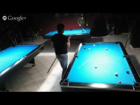 Break Billiards Academy 02 Feb 2015 9 Ball Handicap Tournament The Final