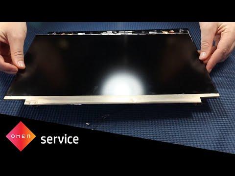 How to Replace the Display Panel   OMEN 15-ek0000, 15-en0000 Laptop PC Series   HP