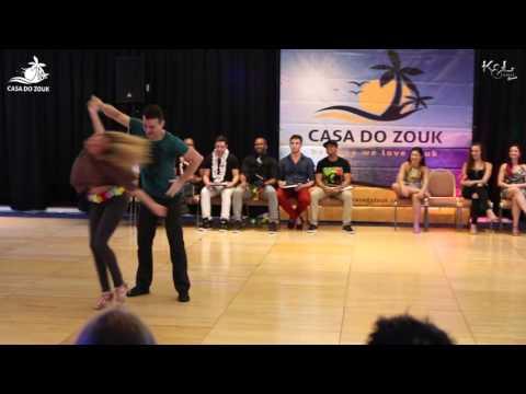 Casa do Zouk 2015 - Brazilian Zouk Invitational J&J 1st Place