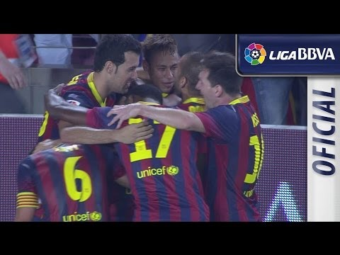 Resumen de FC Barcelona (2-1) Real Madrid - HD - Highlights
