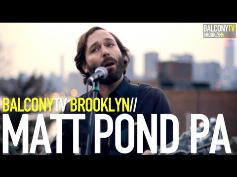 MATT POND PA - LOVE TO GET USED