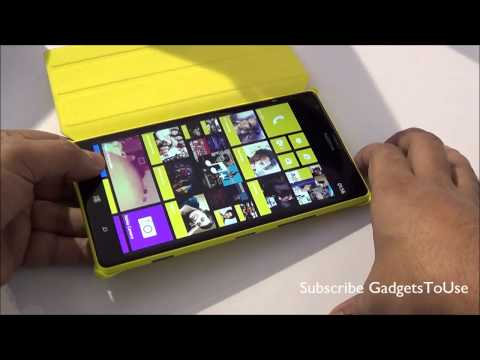Lumia 1520 Hands on Review. Specs. Camera and Overview HD