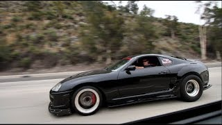 COCKY Supra Owner Gets GAPPED By 900HP EVO X!
