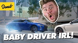 Baby Driver Car Chase In Real Life! | How to Stunt FINALE
