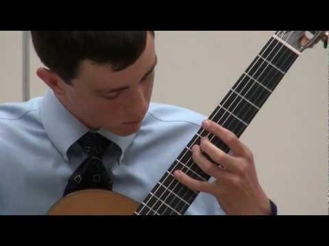 Alexander Stroud at Sacramento Guitar Society - Villa-Lobos - Prelude 4