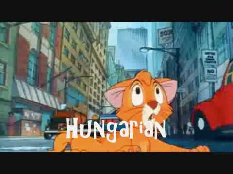 Oliver And Company - Streets Of Gold (one Line Multilanguage) video