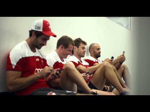 Get Your Hand Off It: Sydney Swans Mobile Mischief (Gear Steward)