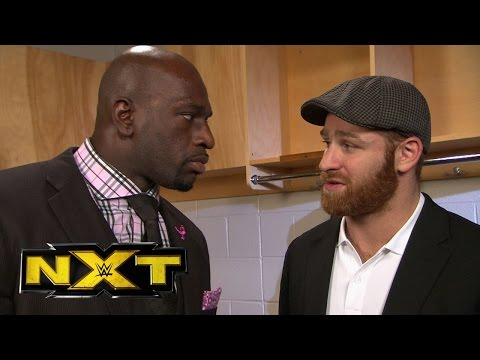 Titus O'neil Challenges Sami Zayn To A Match: Wwe Exclusive, Oct. 23, 2014 video