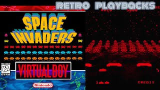 Space Invaders Virtual Collection / Virtual Boy through Oculus Quest