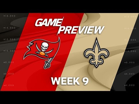 Tampa Bay Buccaneers vs. New Orleans Saints | Week 9 Game Preview | Around the NFL