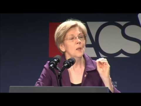 Sen. Elizabeth Warren ACS Convention 2016