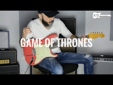 Game of Thrones - Electric Guitar Cover by Kfir Ochaion