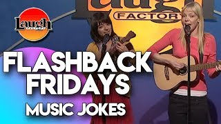 Flashback Fridays | Music Jokes | Laugh Factory Stand Up Comedy
