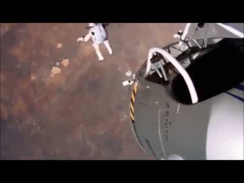 Felix Baumgartner Falls to Earth