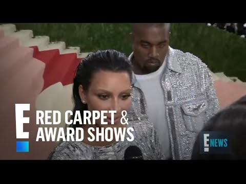 Kim Kardashian & Kanye West Are Twinning at Met Gala 2016 | E! Live from the Red Carpet