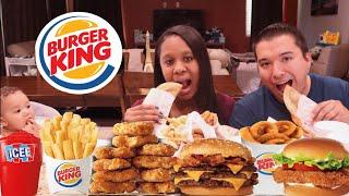 *New Burger King Tacos Mukbang 먹방 + Ordering Entire Value Menu (5000 +Calories) | Eating Show