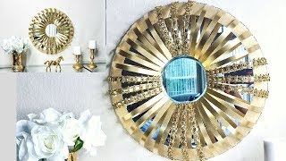 "Diy Quick and Easy ""Mirror on a Mirror"" Wall Decor