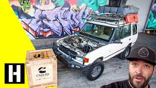 Scotto's Land Rover Discovery is next up with a Cummins R2.8 Diesel Swap!