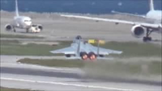 那覇空港 F-15 ダブルテイクオフX2+ホットスクランブル