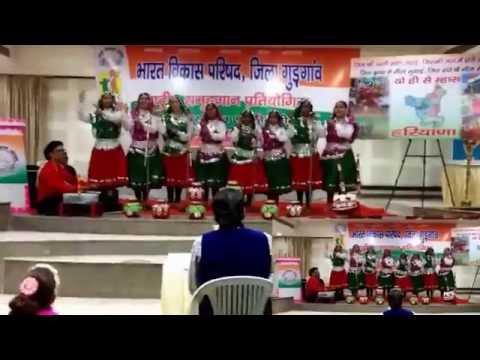 Haryanvi Group Song By Virender At Gurgaon video
