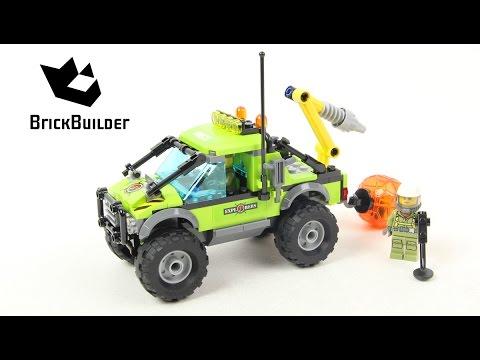 Lego City 60121 Volcano Exploration Truck - Lego Speed Build