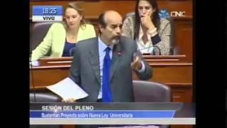 Mauricio Mulder sobre la nueva Ley Universitaria