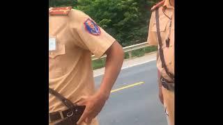 CSGT bắn tốc độ ở Lạng Sơn, cho xem hình ảnh qua điện thoại, hóng cái kết của phần tiếp nếu có