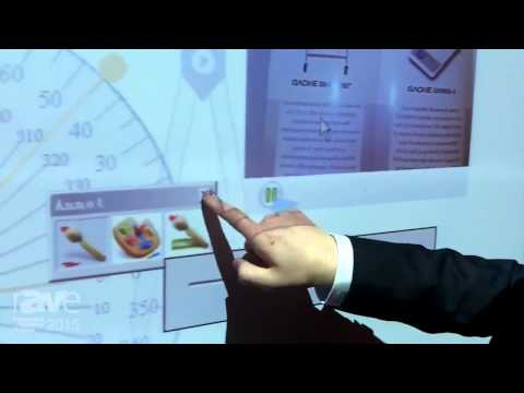 ISE 2015: Gaoke Demonstrates its Interactive White Board System