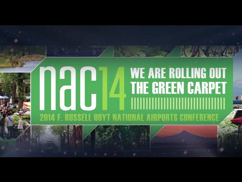 We're Rolling Out the Green Carpet! | 2014 F. Russell Hoyt National Airports Conference