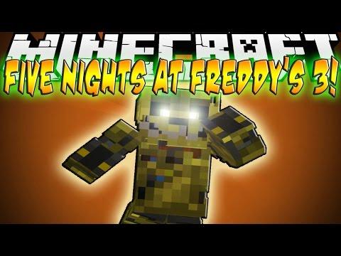 Minecraft Mod Showcase: Five Nights at Freddy's 3!