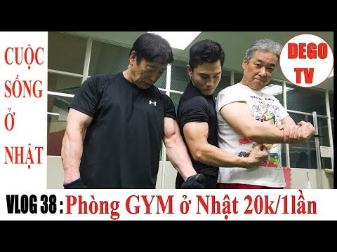 Vlog 38: 3 điều mình bất ngờ khi đến phòng GYM ở Nhật | DEGO TV | DEGO TV - Cuộc Sống ở Nhật