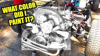 Color Reveal! VW Beetle Engine Tins - ROTTEN OLD 1956 VW Beetle - 96