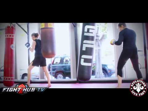 TUF 18 training diary Jessamyn Duke featuring Marina Shafir