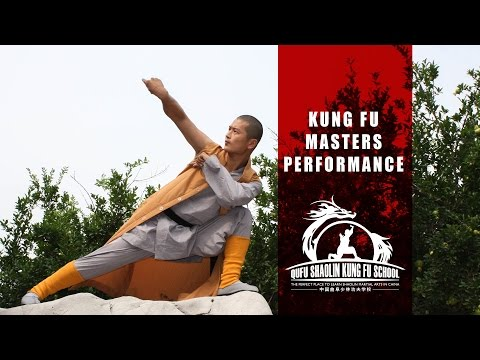 Performance of Shaolin Warrior Monks - Learn Martial Arts in China