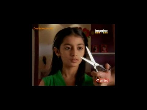 Indian Girl Forced TV Haircut