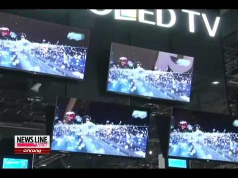 Samsung & LG Unveil Latest TVs At CES 2013 [Arirang News]
