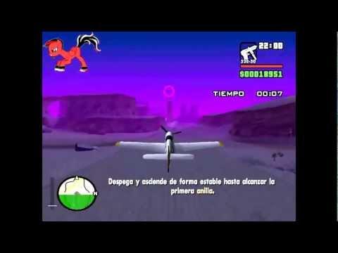 GTA San Andreas: Como pasar la misión Learning To Fly
